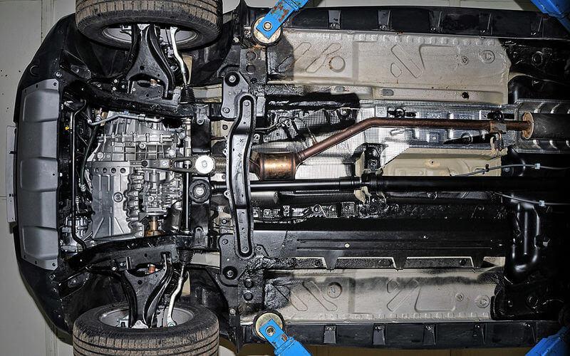 Catalytic converter: monster under the bottom